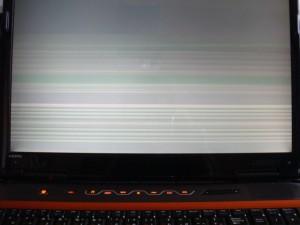 P6861jFX 画面表示不良