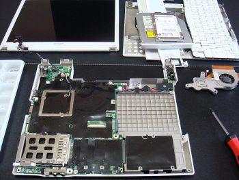SHARP_PC-CS50L DCジャック修理3