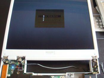 SHARP_PC-CS50L DCジャック修理7