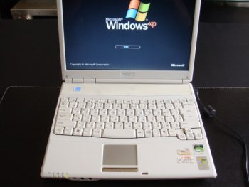 SHARP_PC-CS50L DCジャック修理8