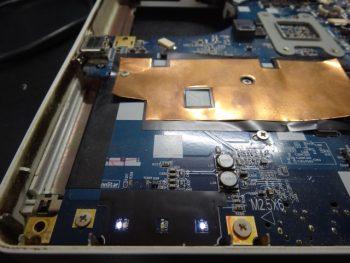 LL550RG DCジャック交換修理