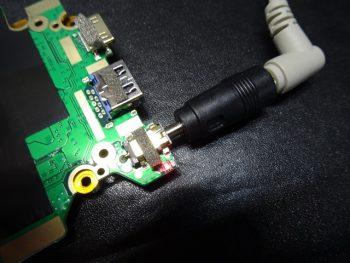 GLM -14-N3350 DCプラグ折れ修理