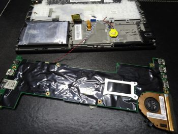 Lenovo X260 マザーボード修理