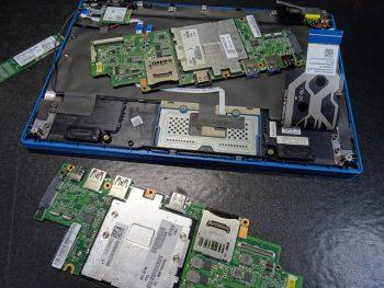NM350GA 150GA マザーボード修理