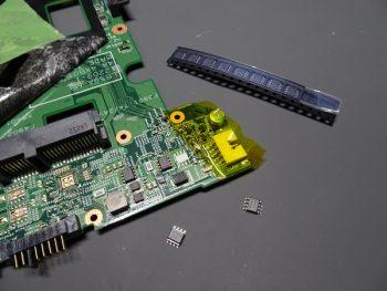 Lenovo B590 マザーボード修理