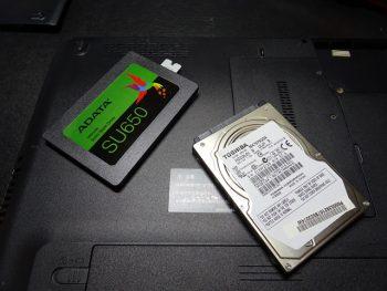 T351/57CB SSD換装