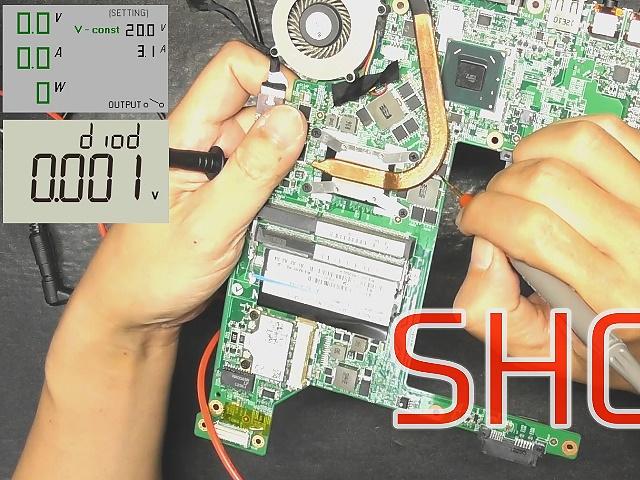 PC-LM750LS マザーボード修理